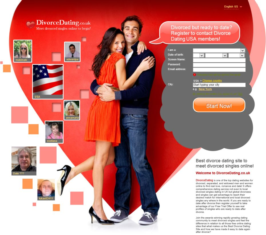 Divorced adults online dating
